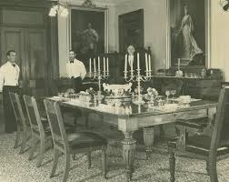 1908 Interior Of The Dining Room Fernberg Residence Queensland Governor John Oxley