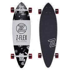 "Longboard Z-Flex Mini-Pintail 32"" Rolling Bones 