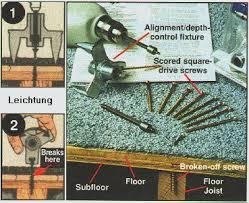 fixing floor squeaks