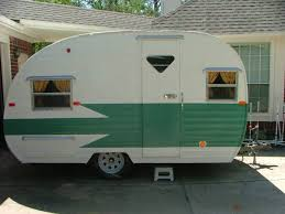 1961 Restored Travel Trailer Such A Great Window In The Door Trailers For SaleVintage