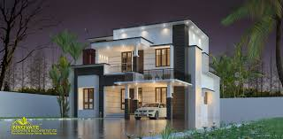 100 Modern Contemporary House Design 1675 Square Feet 3 BHK Double Floor Home