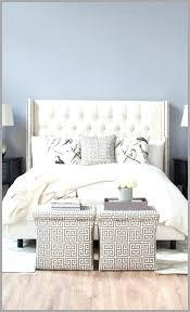 simplement tete de lit capitonnée cuir blanc idée 1070194 lit idées