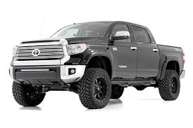 Rough Country Pocket Fender Flares W/Rivets For 14-17 Toyota Tundra ... Bushwacker Fits 4runnerpickup 3100911 Cout Fender Flares Trim Putco 97166 Titan Truck Equipment And Accsories 97402 Sierra Flare Black Pocketstyle Set 2014 12016 F250 F350 Super Duty Pocket Style Amazoncom 2091402 Ford Bolton Riveted Look 0208 Ram 1500 Sb Truck Chrome Wheel Fender Flare Molding Trim Rust Removal Installation 96 F Lund Intertional Bushwacker Products 97222 Polished 94002 Boss