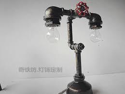 AD Interesting Industrial Pipe Lamp Design Ideas 15