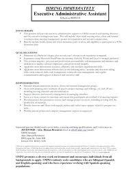 Resume Summary Examples Nonprofit