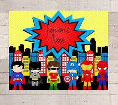 Vintage Superhero Wall Decor by 25 Unique Superhero Room Decor Ideas On Pinterest Superhero