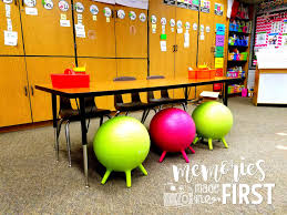 Ball Seats For Classrooms by Memories Made In First Flexible Seating Pros U0026 Cons A Classroom