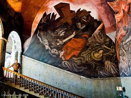 murales de josé clemente orozco en palacio de gobierno flickr