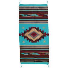 teppich läufer im stil der navajo indianer southwest ranch style xx 160 x 80 cm