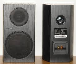 Pioneer SP BS41 LR bookshelf speakers Andrew Jones Designed