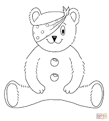 Click The Children In Need Mascot Coloring Pages
