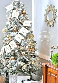 How To Flock A Fake Christmas Tree And Make It Look More Expensive Via Firsthomelovelife