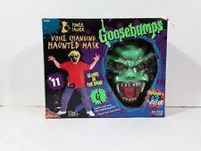 Best Halloween Voice Changer by Goosebumps Mask Ebay