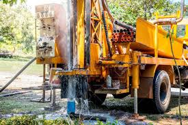 Ground Water Hole Drilling Machine Installed On The Old Truck ... Drilling Contractors Soldotha Ak Smith Well Inc 169467_106309825592_39052793260154_o Simco Water Equipment Stock Photos Truck Mounted Rig In India Buy Used Capital New Hampshires Treatment Professionals Arcadia Barter Store Category Repairing Svce Filewell Drilling Truck Preparing To Set Up For Livestock Well Repairs Greater Minneapolis Area Bohn Faqs About Wells Partridge Cheap Diy Find Dak Service Pump