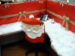 Funny Christmas Cubicle Decorating Ideas by Holiday Office Decorating Ideas Get Smart Workspaces