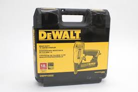 Bostitch Floor Stapler Problems by Tool Review Dewalt Heavy Duty 18 Gauge 1 4 U2033 Crown Stapler