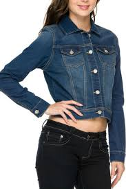 wax jean medium denim jacket from oklahoma by simply turquoise
