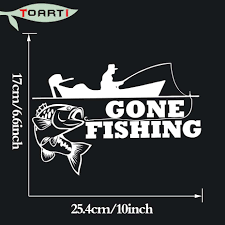 25.4*17 CM Gone Fishing Decals For Car Body And Bumper Window Pvc ... Jesus Fish Decal Bumper Sticker Christian Bc Fishing Reports Pemberton Finder Page 32 Of Stickers Decals And Plus Yamaha Live Love Fish Car Truck Laptop Boat Fisherman Hunting Fun Fishingdecalsstickers Reel Skillz Gear Amazoncom Zombie Outbreak Response Team Notebook Skiff Life Jon Car Window Kayaks Funny Motorycle Tank Stying Fishing Vinyl Decals 3745 Car Decal Sticker Laptop Bass Ebay Bendin Tips Rippin Lips Crappie Ice Hotmeini 50 Pcslot For Rear Windshield
