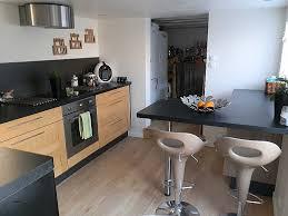 cuisine alu cuisine cuisine alu et bois beautiful cuisine noir et blanc laqu