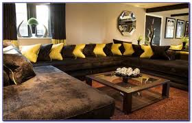 dark brown sectional living room ideas living room home design