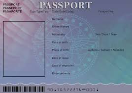 Passport Template For Kids