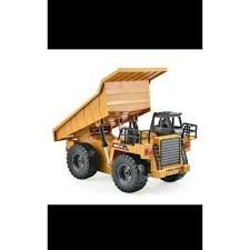 Flash Sale HuiNa Toys1540 6 Channel 1/12 Mainan RC Metal Dump Truck ...
