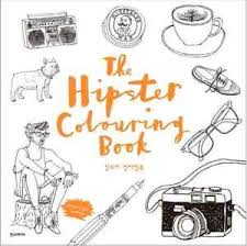 Image Is Loading The Hipster Coloring Book For Adults Gift Fun
