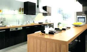 meuble de cuisine noir laqué cuisine noir brillant meuble cuisine noir laque cuisine laque noir