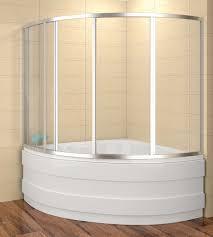 badewannenaufsatz 120x120cm duschbadewanne 120x120x135 cm lxbxh duschabtrennung badewanne 4 teilig
