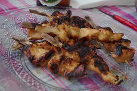cuisine thailandaise recette balico co brochettes de poulet satay