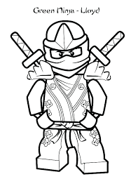 Lego Ninjago Kai Coloring Pages Colouring