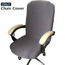 Melaluxe Office Chair Cover - Universal Stretch Desk Chair Cover, Computer  Chair Slipcovers (Size: L) Leather Office Chair Cover Beandsonsco View Photos Of Executive Office Chair Slipcovers Showing 15 Melaluxe Cover Universal Stretch Desk Computer Size L Saan Bibili Help Gloves Shihualinetm Cloth Pads Removable Gallery 12 20 Size Washable Arm Slipcover Rotating Lift Covers Chairs Without Arms Ikea Ding Room Slipcover Eleoption Seat High Back Large For Swivel Boss Lms C Best With Lumbar Support Small