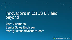 Extjs Kitchen Sink 65 by Sencha Roadshow 2017 Innovations In Ext Js 6 5 And Beyond