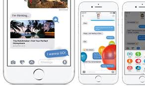 iOS 10 Messages How to send balloons lasers animations