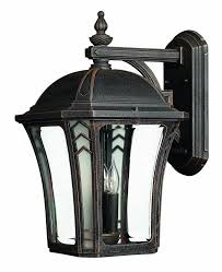 hinkley lighting 1335 led 18 5 height led outdoor lantern wall