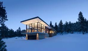 100 Contemporary Lodge Modern Lodge In The Rocky Mountains Produces As Much Energy