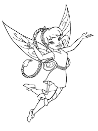 Full Size Of Fawn Coloring Pages Disney Fairy With Butterfly Page