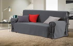 couvre canapé 3 places housse de canapé 3 places anthracite