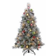 7ft Artificial Christmas Tree With Lights by Pre Lit Christmas Trees You U0027ll Love Wayfair