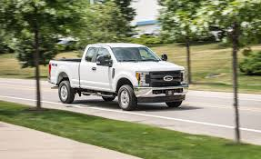 100 Best Fuel Mileage Truck 2017 Ford F250 Super Duty Gasoline V8 SuperCab 4x4 Test Review