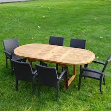 Amazon.com : New 7Pc Grade-A Teak Outdoor Dining Set-83