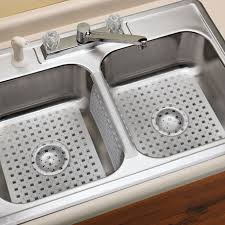 Sink Divider Protector Mats by Kitchen Mats Kohler Sink Accessories Dish Drainers Rubbermaid Plus