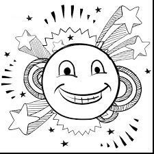 Smiley Face Coloring Page Inspirational 22 For Line Drawings With