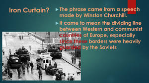 Churchills Iron Curtain Speech Analysis by World War Ii On The Home Front Post War America Ppt Download