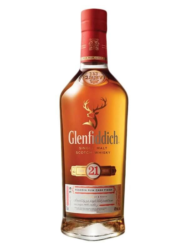 Glenfiddich Single Malt Scotch Whisky - 750ml