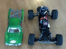 100 Losi Trucks Brushless Mini Desert Truck 1 18 Scale Xcelorin Combo RTR On