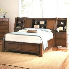 Trundle Bed With Bookcase Headboard Size Bookcase