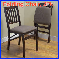 2 Pack, Stakmore Solid Wood Folding Chair ,Padded Seat Wood Folding Chairs With Padded Seat White Wooden Are Very Comfortable And Premium 2 Thick Vinyl Chair By National Public Seating 3200 Series Padded Folding Chairs Vintage Timber Trestle Tables Natural With Ivory Resin Shaker Ladder Back Hardwood Chair Fruitwood Contoured Hercules Wedding Ceremony Buy Seatused Chairsseat Cushions Cosco 4pack Black Walmartcom