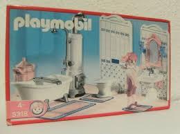 playmobil badezimmer mit wanne 5318 möbel bad nostalgie