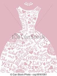 Wedding Dress clipart elegance 5